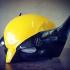 Wolverine Helmet print image