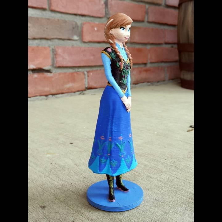 Anna from 2013 Frozen