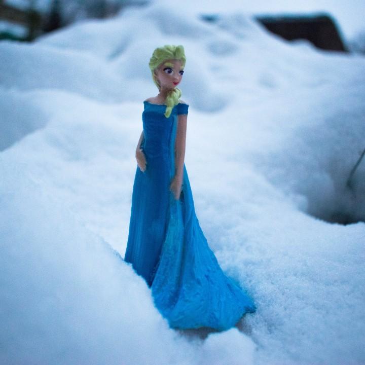 Impression 3D de Elsa from 2013 Frozen par Gallifreii