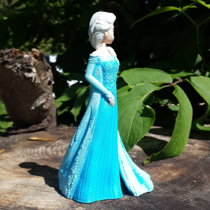 Elsa from 2013 Frozen