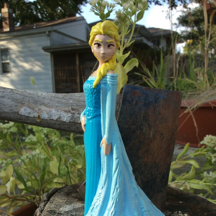 Picture of print of Elsa from 2013 Frozen This print has been uploaded by Darryl Ricketts