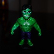 Picture of print of Chibi Hulk