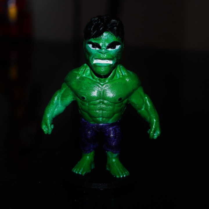 Picture of print of Chibi Hulk This print has been uploaded by Valentin Lheureux