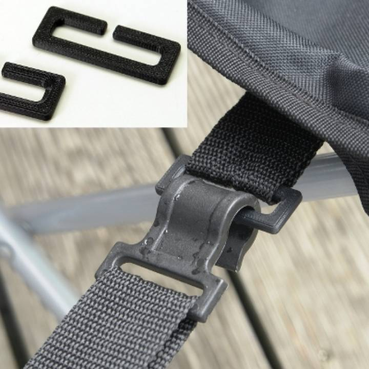 Ring For Camping Chair With Footrest