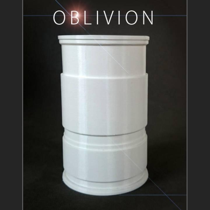 Oblivion flower pot replica
