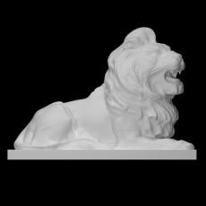 Lion (Left) at HSBC, Canary Wharf, London