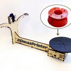 Picture of print of 3D laser scanner Ciclop table support for Desktop DIY 3d scanner