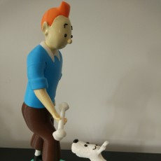 Picture of print of Tintin and Snowy This print has been uploaded by Filipe