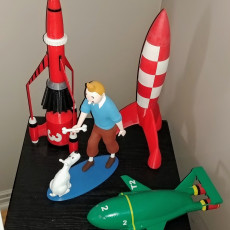 Picture of print of Tintin and Snowy This print has been uploaded by Cliff schwankner