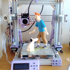 Picture of print of Tintin and Snowy This print has been uploaded by benoit prou