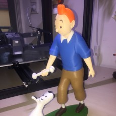 Picture of print of Tintin and Snowy This print has been uploaded by morten thorsen