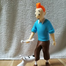 Picture of print of Tintin and Snowy This print has been uploaded by Hanna Y