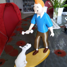 Picture of print of Tintin and Snowy This print has been uploaded by xand3r