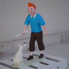 Picture of print of Tintin and Snowy This print has been uploaded by alfazulu77