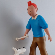 Picture of print of Tintin and Snowy This print has been uploaded by Benjamin Meulemans