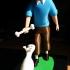 Tintin and Snowy print image