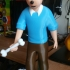 Tintin and Snowy print image