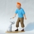 Tintin and Snowy image