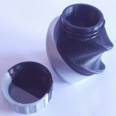 Picture of print of Twisted Bottle & Screw Cup (Dual Extrusion / 2 Color)