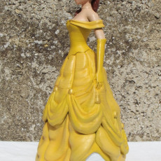 Picture of print of Beauty and the Beast Belle
