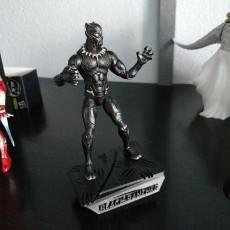 Black Panther Display Stand for Marvel Legends BLk Panther figures