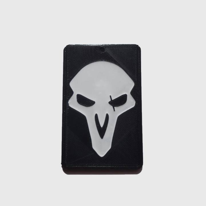 OVERWATCH - REAPER - ID card holder Credit Card Bus card case keyring