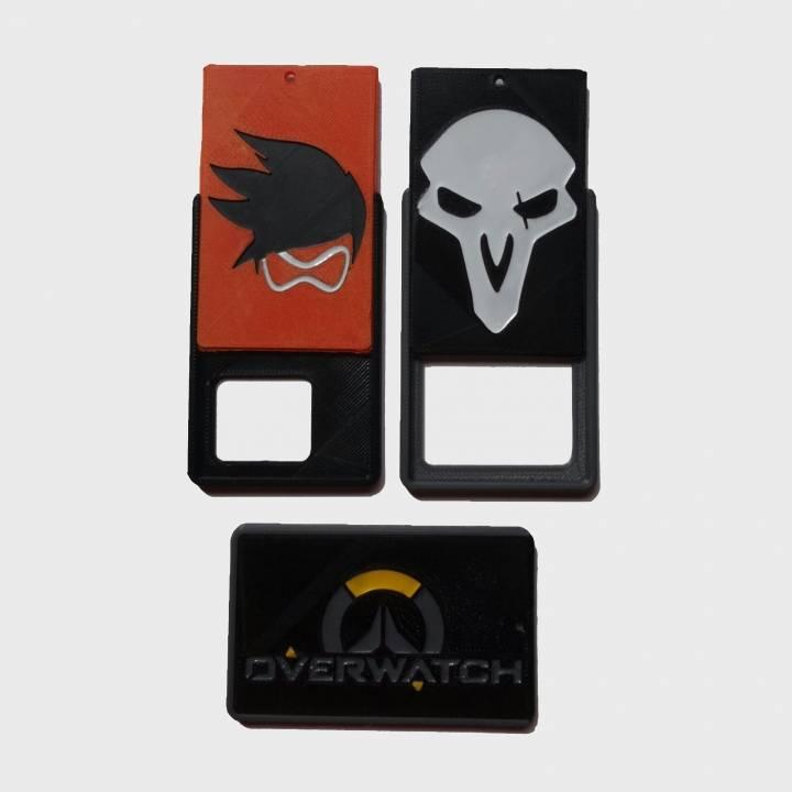 OVERWATCH - ID card holder Credit Card Bus card case keyring