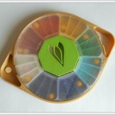 Pill Dispenser  Rainbow