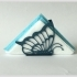 "Napkin holders ""Butterfly"" image"