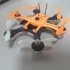 Hexacopter 125/110mm spracing f3 coreless 8.5x200mm image