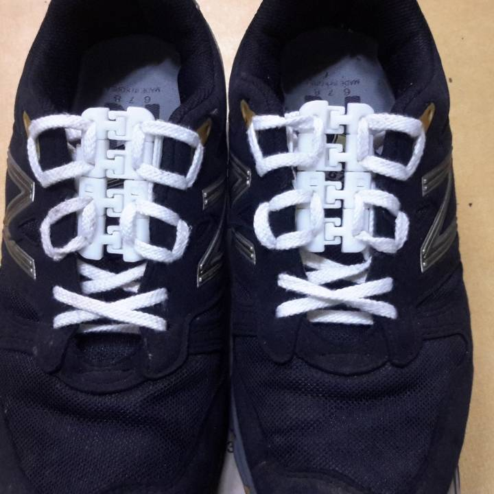 Jointed Shoe Lacing Device