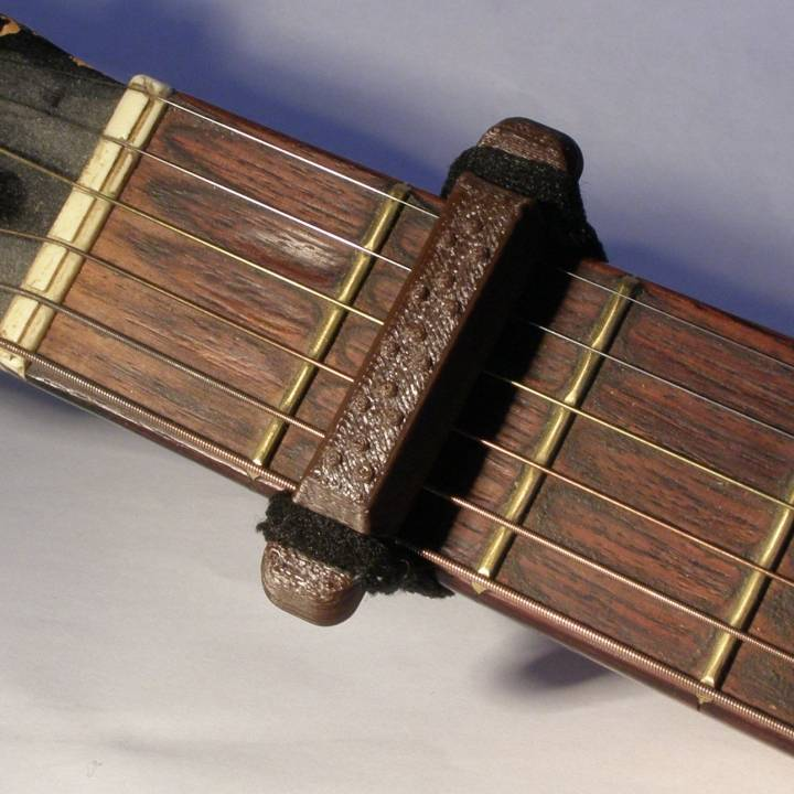 3D Printed Guitar Capo - Project Note