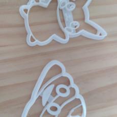 Picture of print of Poop-Emoji-Cookie-Cutter