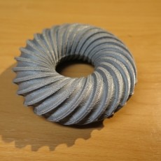 Spiral torus - half, full, flat bottom