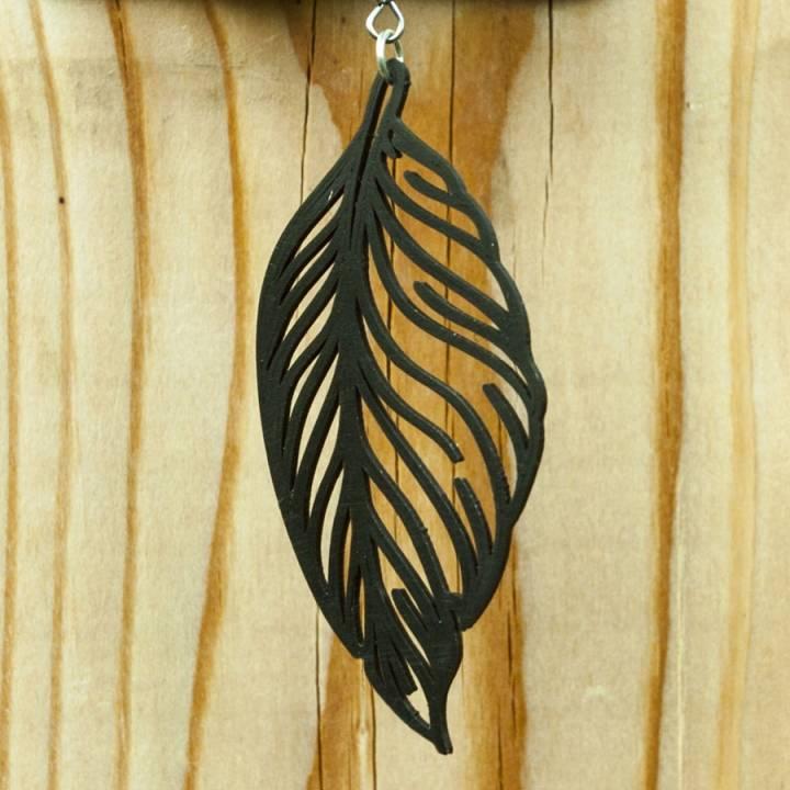 Earrings Feather 1