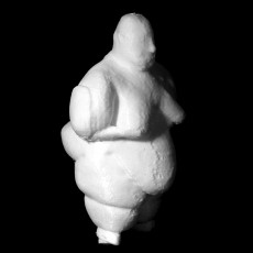 Neolithic statuette at Catalhoyuk, Turkey