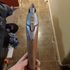 Picture of print of Gungi's Lightsaber
