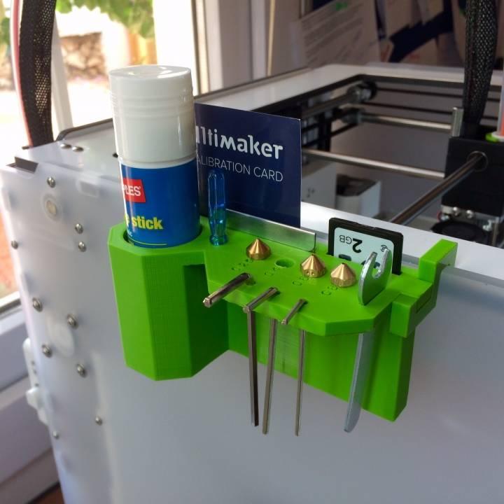 Ultimaker 2+ Tool & Nozzle Holder (Left Hand Side)