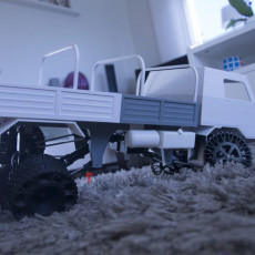 Picture of print of 3D printed RC truck V3