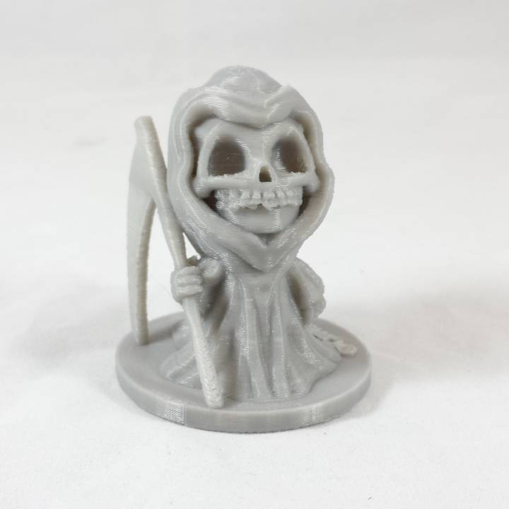 Chibi Creepy Chainsaw Shaker STL File For 3-D Printing File Only Not the Pieces