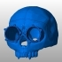 Steampunk Skull helmet image