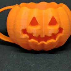Picture of print of pumpkin mug