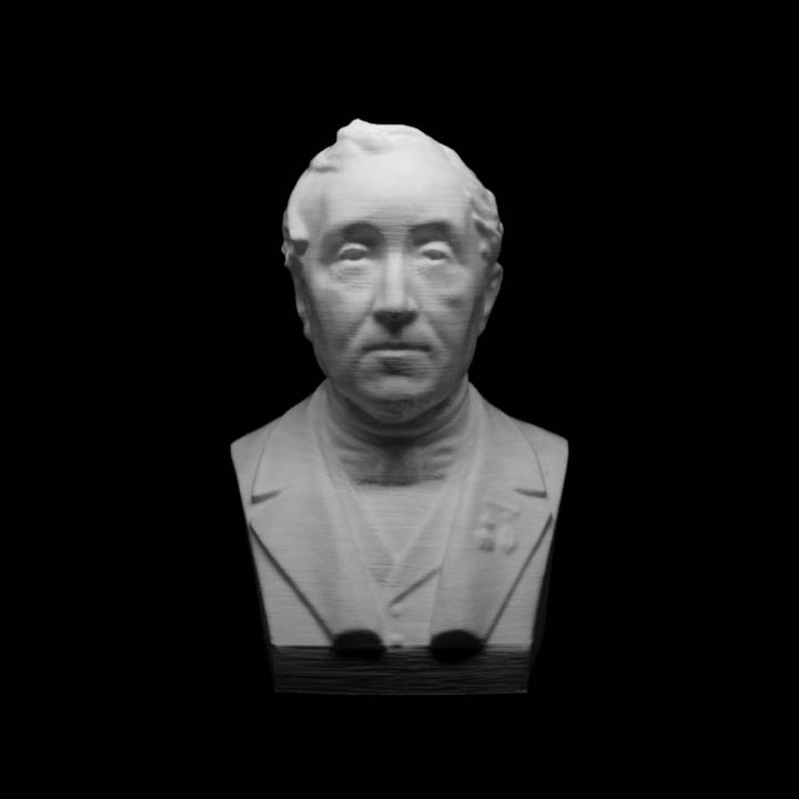 Unknown Bust (Photosculpture) at The Collection of Gérard Lévy