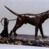 Two Tethered Hounds at The Depot des Sculptures, Paris image