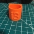 i3 Glue Stick Holder image