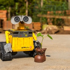Picture of print of Wall-E Robot - Fully 3D Printed