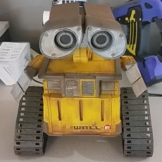 Wall-E Robot - Fully 3D Printed