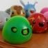 3D Printed Slimes [Slime Rancher] - Boom, Phosphor, Rad & Honey! image