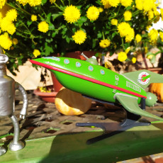 Picture of print of Planet Express Ship [Futurama]