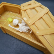 Picture of print of Halloween Coffin pot decoration Esta impresión fue cargada por Wilson Choi